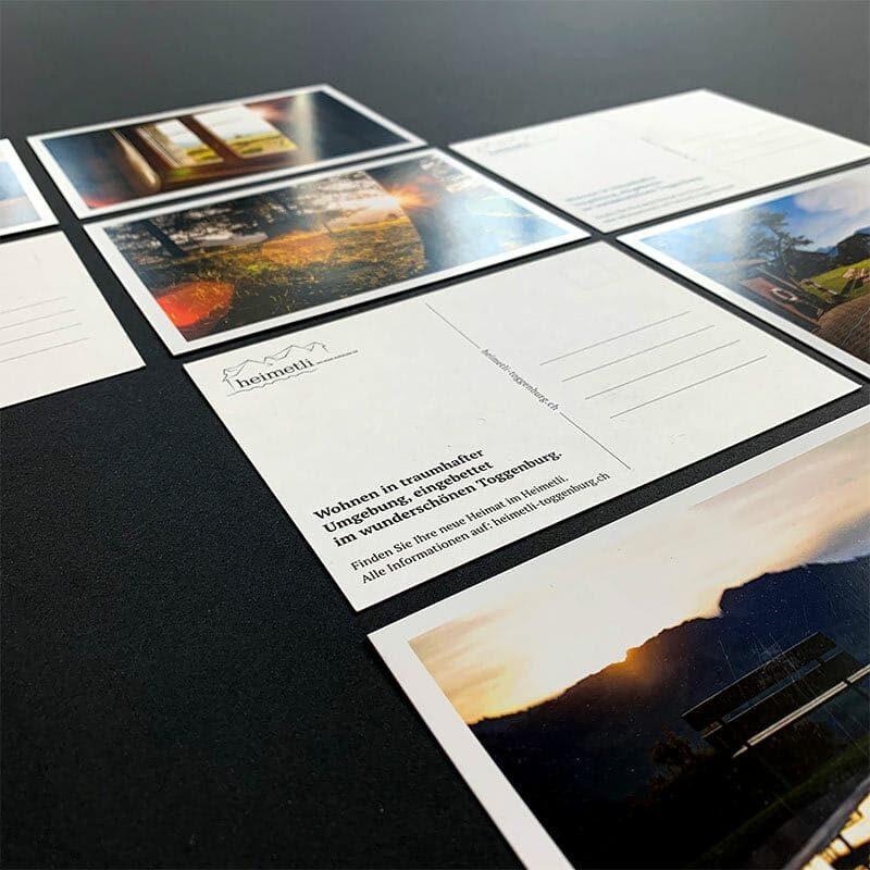 Postkarten Heimetli
