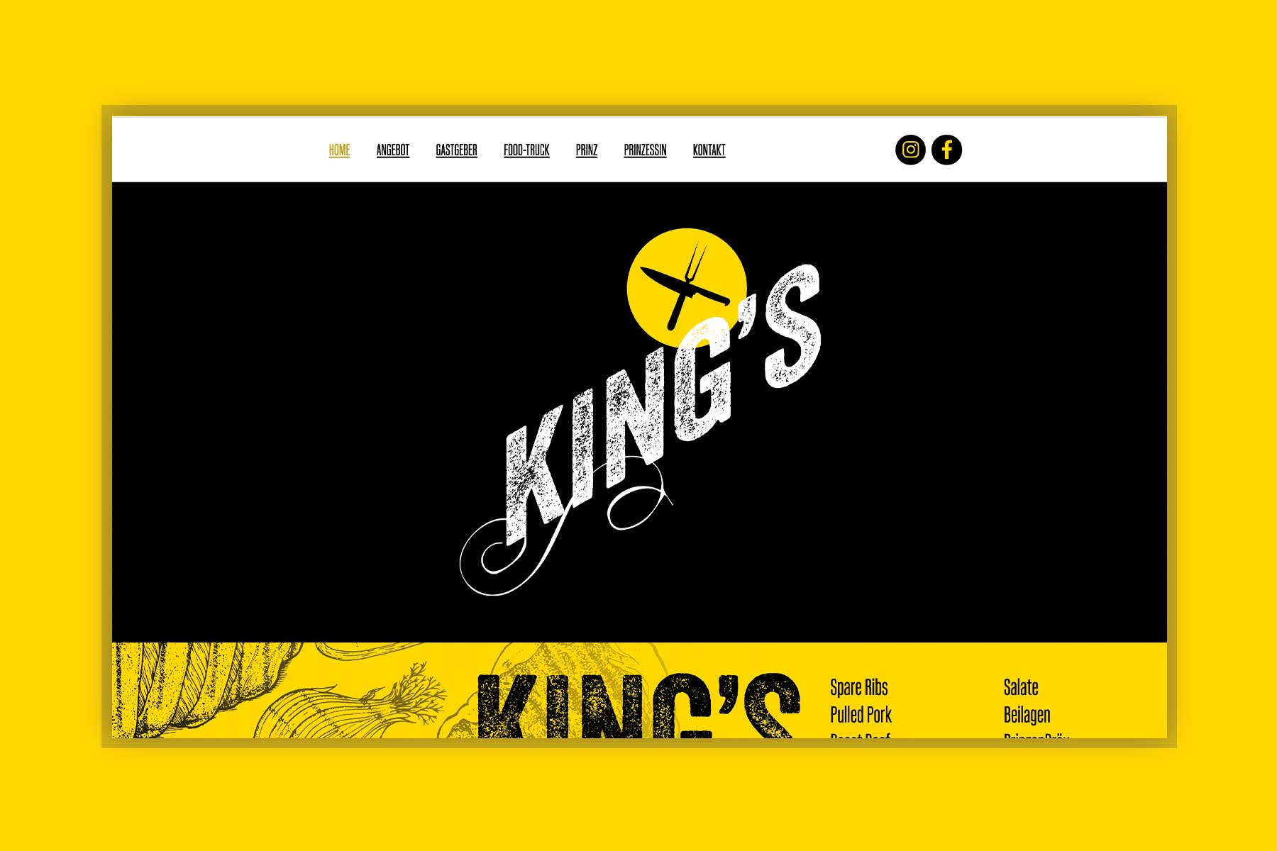 Webseite King's Yellow