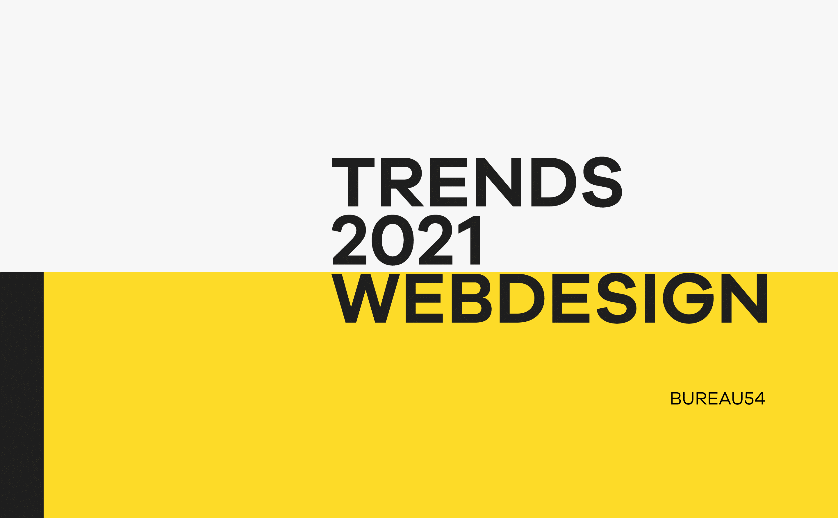 Webdesign Trends Titelbild