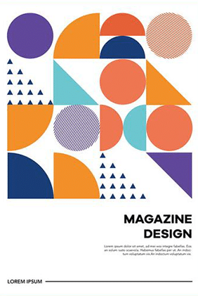 Designtrend Geometrische Formen