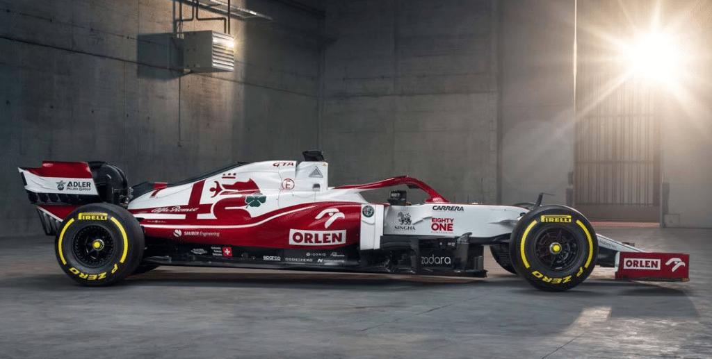 Formel1 Auto Eighty One Logo